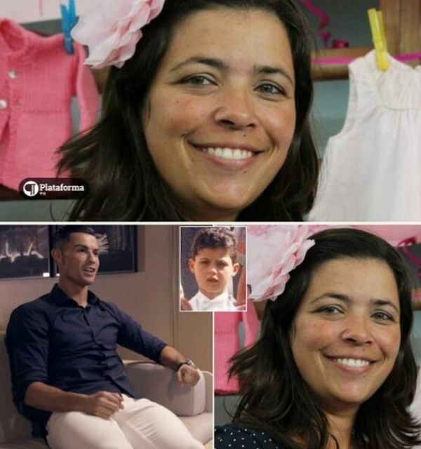 Ronaldo Finds The Lady Who Fed Him When He Begged For Food As A Boy