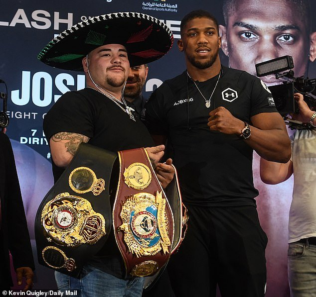 See How Much Anthony Joshua & Andy Ruiz Will Be Getting For Their Boxing Rematch