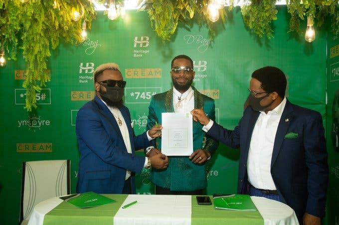 D'banj N45Million Endorsement Deal With Heritage Bank Allegedly Suspended