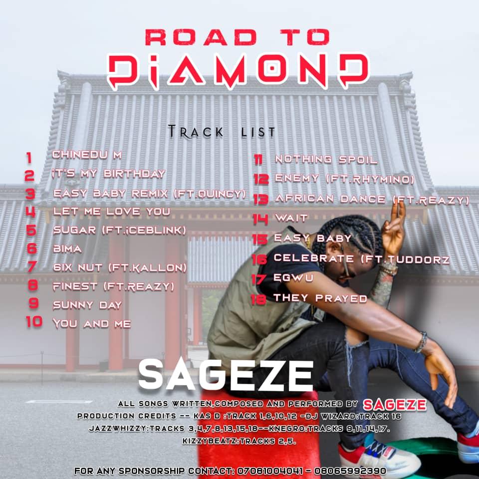 [Music] Sageze – Road To Diamond (Full Album)